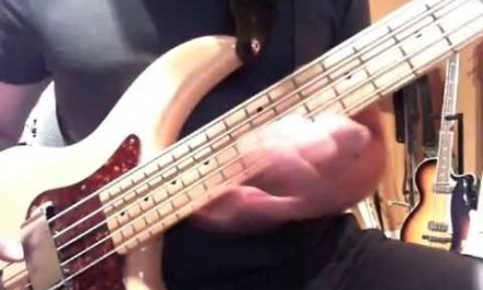 Blues Bass Solo in C using the C Blues Scale