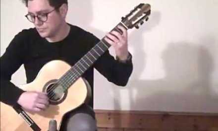 Moondance by Van Morrison arranged for Classical Guitar by Timothy Tate