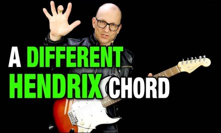 A Different Hendrix Chord?