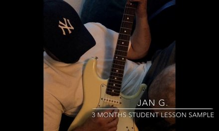 Guitar Lesson Video: Jan G.