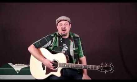 Gospel Chord Progression A minor,  F,  C (guitar lesson)