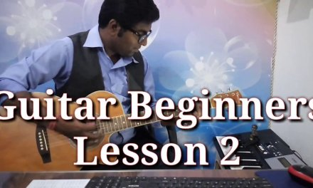 Guitar Lesson 2 For Beginners in Hindi I 4beats musical academy