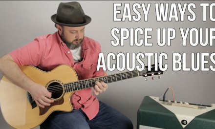 Acoustic Blues Guitar Lesson – 1 Easy Triad To Spice Up Your Blues!