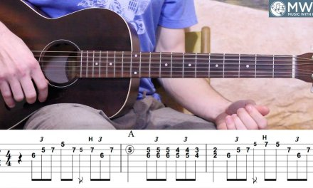 12 Bar Blues in A – Blues Guitar Lesson – Licks and Phrases