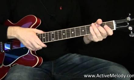 Rhythm Guitar Lesson – chord variations
