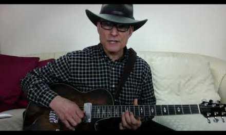 How to play Intro to Blues Deluxe by Joe Bonamassa  1