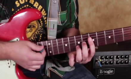 How to play with a band using  using upper structure guitar chords