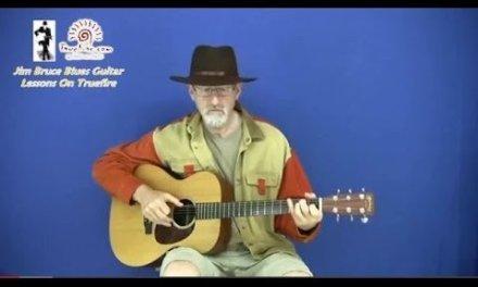 Blues For Beginners  – Lightnin' Hopkins Blues Guitar Lesson