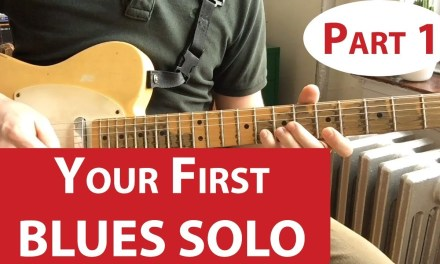 Your First Blues Solo | Guitar Lesson