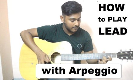 Arpeggio 2nd shape-how to play lead-Advanced tutorial 2