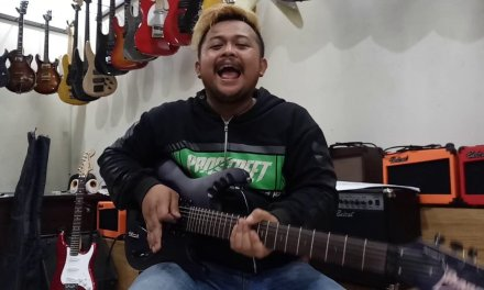 Review Ibanez Egen HERMAN LEE DRAGON FORCE custom by #dennystunt | kirim ke BEKASI