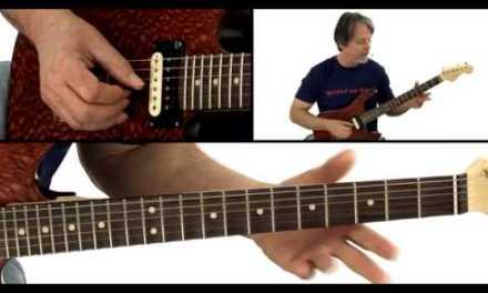 Blues Guitar Lesson – #4 – Brad Carlton