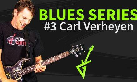 Blues Guitar Series #3: Carl Verheyen Blues Lick Guitar Tutorial