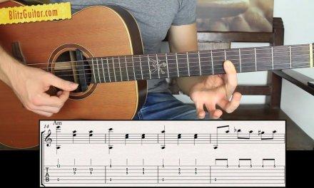 The Saddest Acoustic Guitar Lesson! (Beginner friendly). Sad Italian Waltz