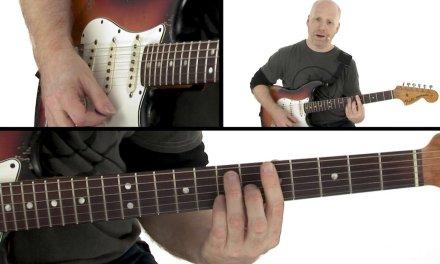 Blues Rhythm Guitar Lesson – Blue Ball Shuffle Breakdown – Oz Noy