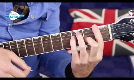 F BARRE CHORD GUITAR  – TOP 5 TIPS!