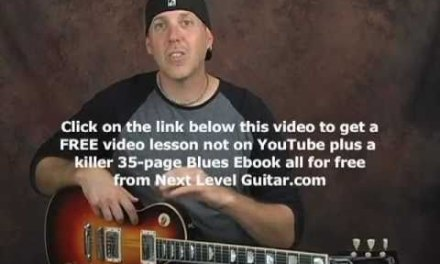 Create endless guitar licks and riffs using any scale or mode lesson electric or acoustic
