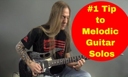 #1 Tip to Effective Melodic Guitar Soloing – Steve Stine Guitar Lessons