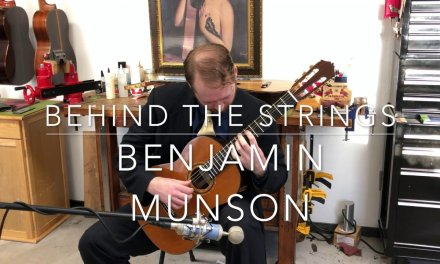 Behind The Strings With Benjamin Munson Villalobos Prelude No1