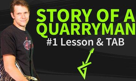 How to play Story of a quarryman Guitar Lesson & TAB Joe Bonamassa