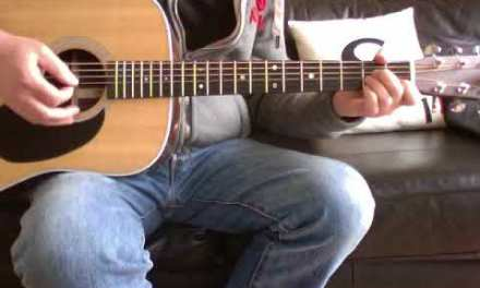 U2  – One (Acoustic Guitar Lesson)