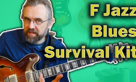 F Blues Guitar Survival Kit – What You Need to know