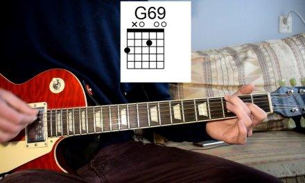 King Krule – Lonely Blue Guitar Lesson