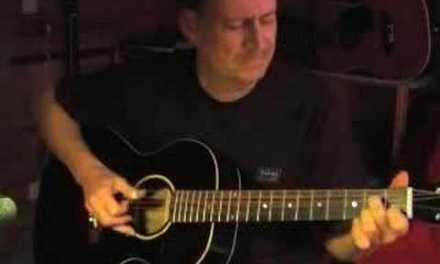 Thumpin' The Blues – Acoustic Guitar Instrumental