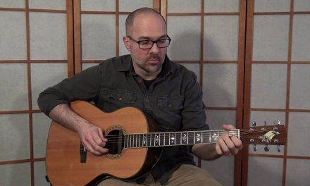 ActiveMelody.com March 2018 Challenge – EP211 – Solo Acoustic Blues Guitar Lesson