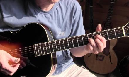 """Acoustic Guitar Lesson  – Eddie Lang's """"A Little Love A Little Kiss"""""""