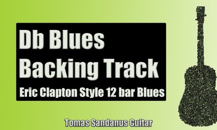 Blues Backing Track in Db | Eric Clapton Style | Slow 12 bar Shuffle Guitar Backtrack