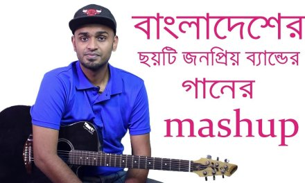 6 Bangla Band Hits In One Mashup – Doeel