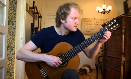 Fernando Sor – Study No. 17 in A, Op. 35  (Acoustic Classical Guitar Cover by Jonas Lefvert)