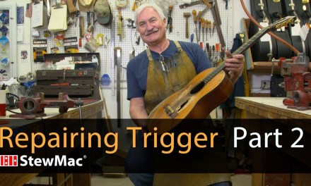 Repairing Willie Nelson's Trigger Part 2