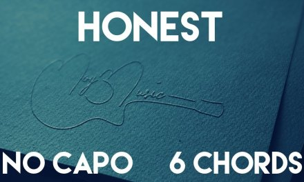 How To Play Honest by Bazzi | No Capo (6 Chords) Guitar Lesson