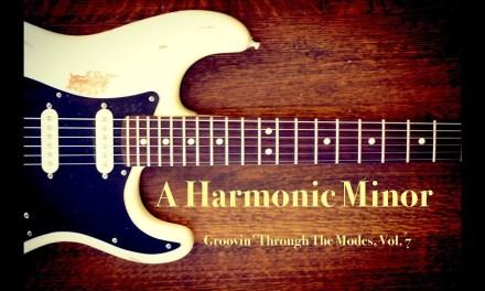 A Harmonic Minor Jam Backing Track (+TAB)