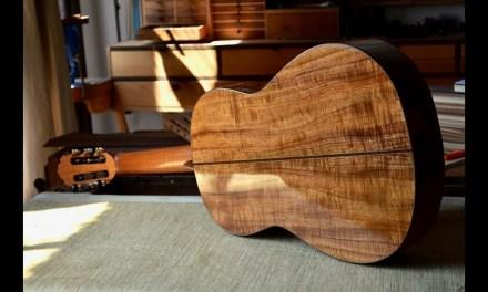 Koa Flamenco Guitar Luthier-made Negra for Sale