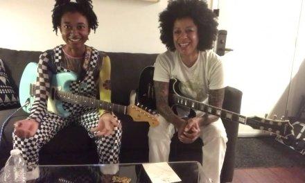 Beyonce's Guitarist Bibi McGill and Melanie Faye Jam