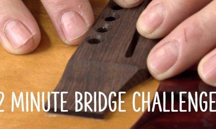 Dan's 2 minute bridge challenge!