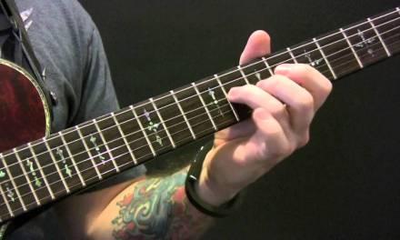 Seether Careless Whisper Guitar Tutorial