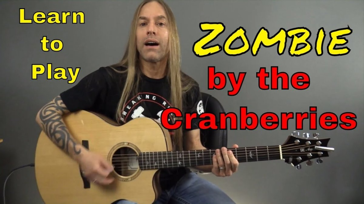 Learn How To Play Zombie By The Cranberries Guitar Lesson Guitar