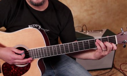 Hand Crafted Acoustic Blues Progression (easy open chords)