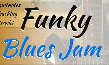Funky Blues Jam Backing Track – jam track in A
