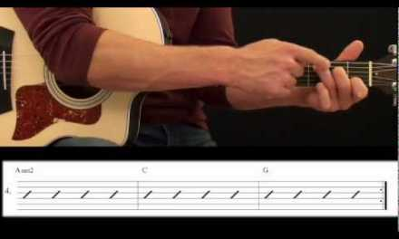 Beginning Guitar Lesson – Chord Strumming Lesson