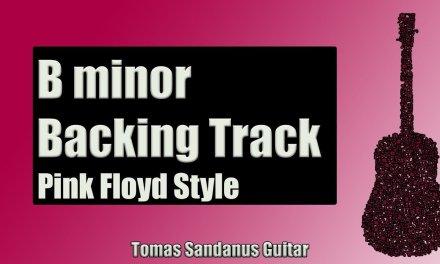 Pink Floyd Style Backing Track in Bm | Progressive Rock Guitar Backtrack | Brick Wall Solo