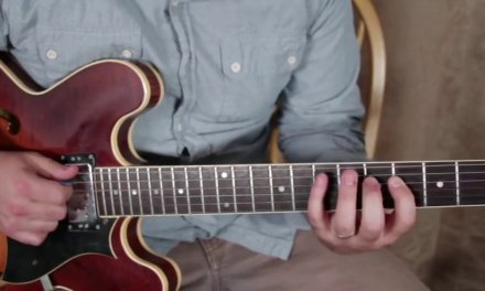 Marty's Favorite E minor Blues lick (Plus backing track to practice with)