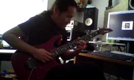 Herman Li – Quick Improvised Guitar Solo