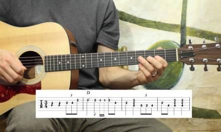 Kentucky Waltz Solo – Guitar Lesson