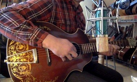"1930s Kay Kraft ""Venetian"" 2-point archtop guitar"