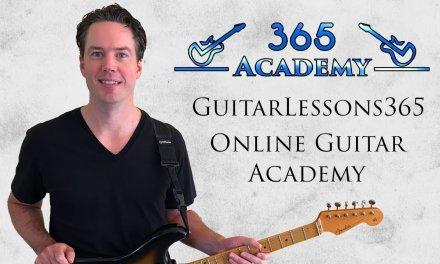 GuitarLessons365 Online Guitar Academy